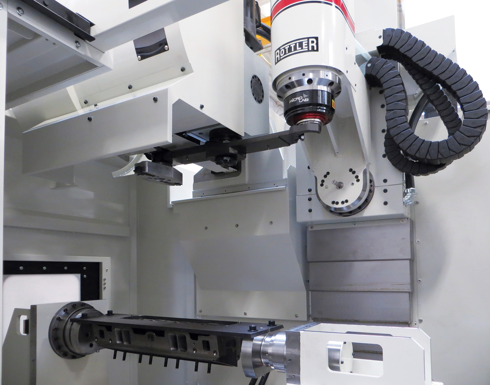 Rottler EM69HP High Power 5-Axis CNC Digitizing, Porting and