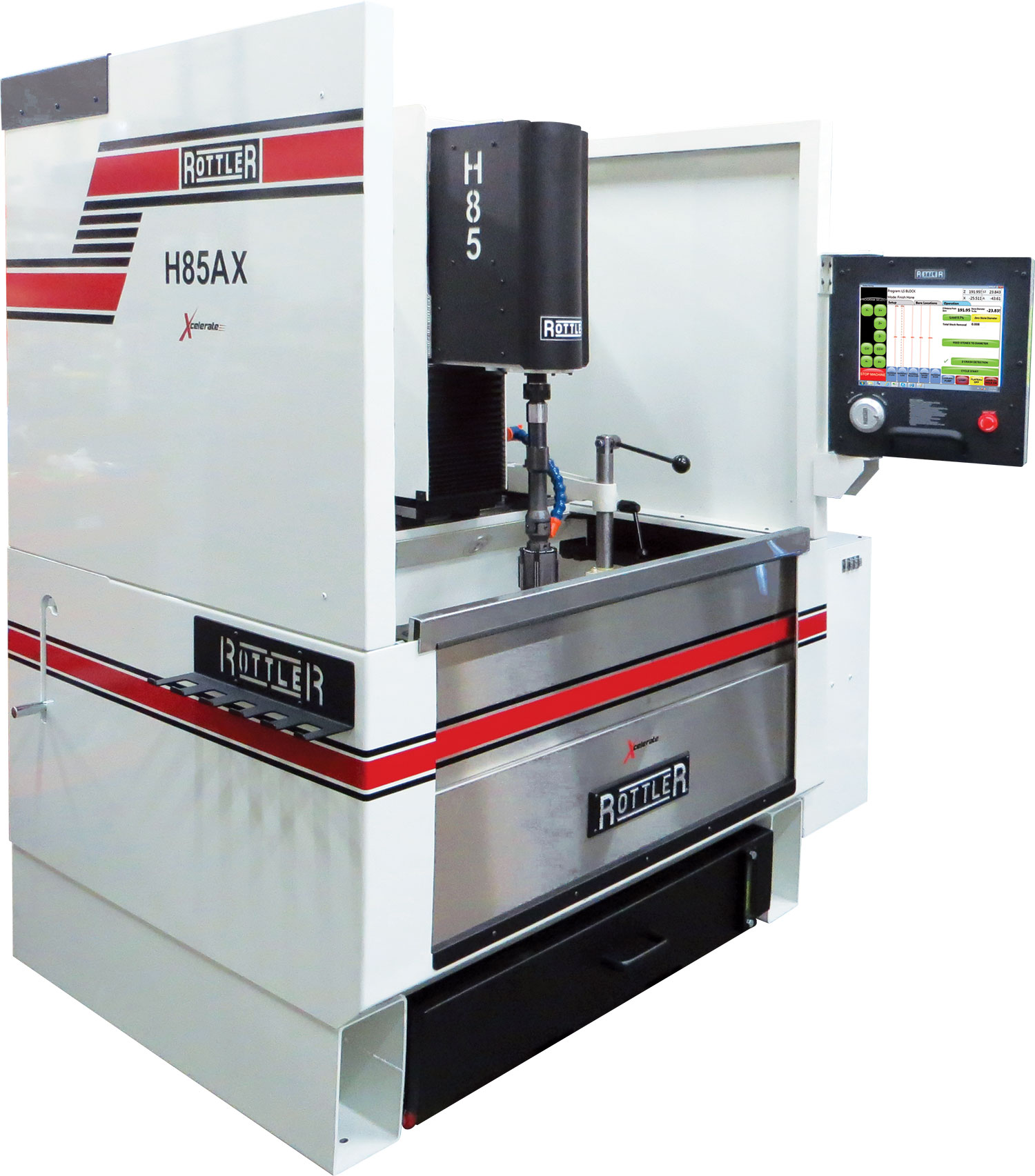 Rottler H85AX CNC Automatic Vertical Honing Machine with Hole-to