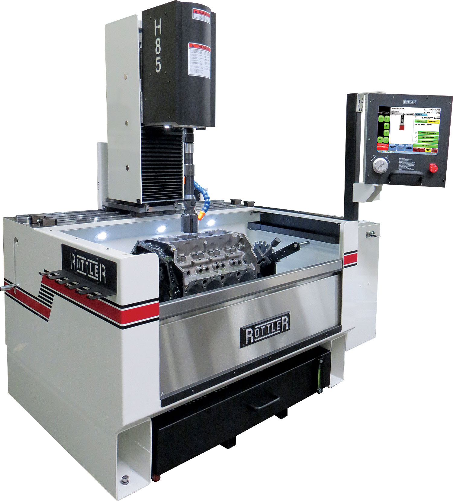 Rottler H85A CNC Automatic Vertical Honing Machine